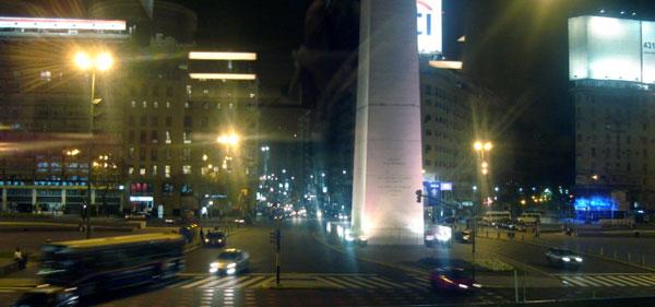 Obelisco - Praça da República em Buenos Aires (Foto: Carlos Pecuch)