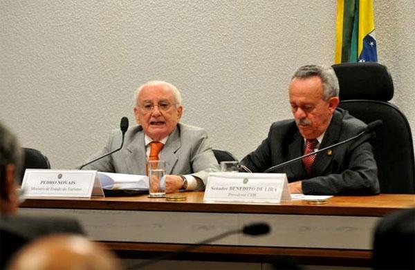 O ministro do Turismo compareceu a Comissão de Desenvolvimento Regional e Turismo do Senado e falou sobre as atividades da pasta. (Foto: Johnys Julio)