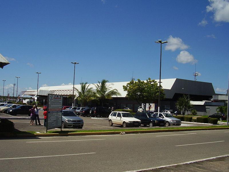 Terminal do aeroporto de São Luis, Maranhão (Foto: SLRTDM)