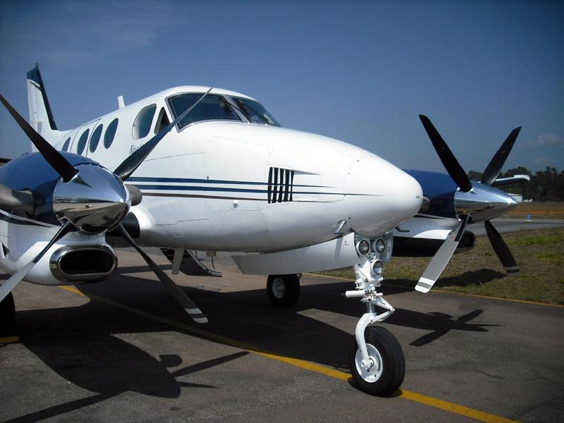 King Air C90B revitalizado pelo programa RenovAir (Foto: Divulgação)