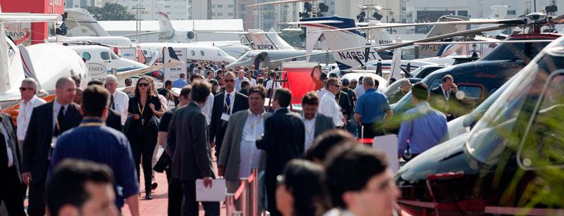 Vista da feira Labace, edição 2010, em São Paulo (Foto: Edson Kumasaka)