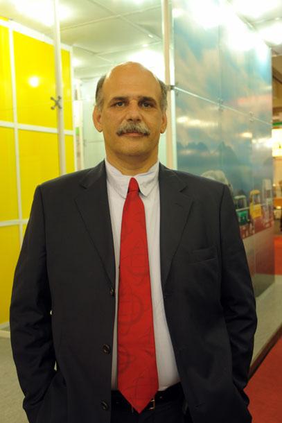 Ubiratan Lago, gerente de novos negócios da Swissport