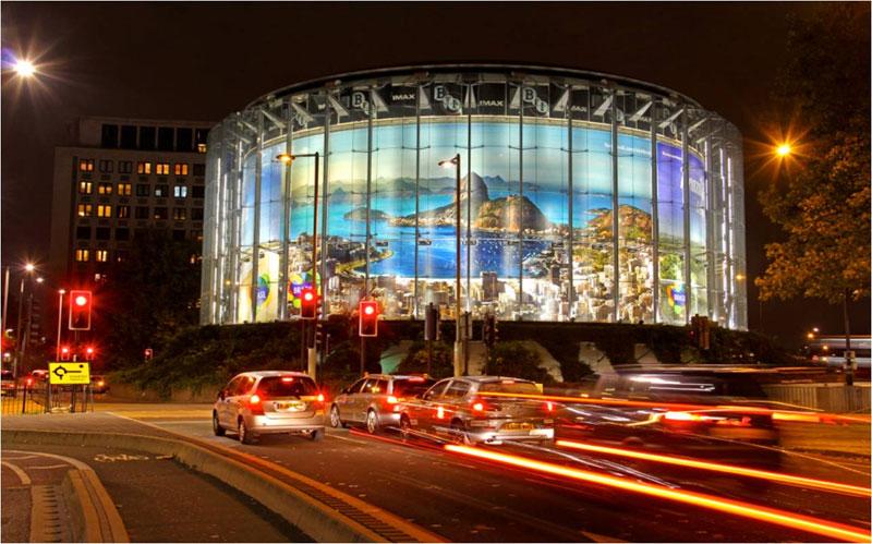 O Brasil te Chama. Celebre sua vida aqui - Estação Waterloo em Londres (Foto: Divulgação)