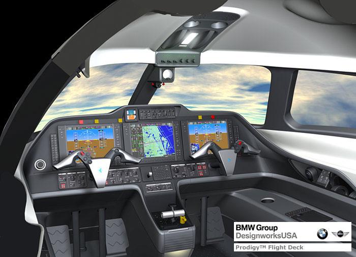 Phenom 100 da Embraer (Foto: Reprodução/Embraer)