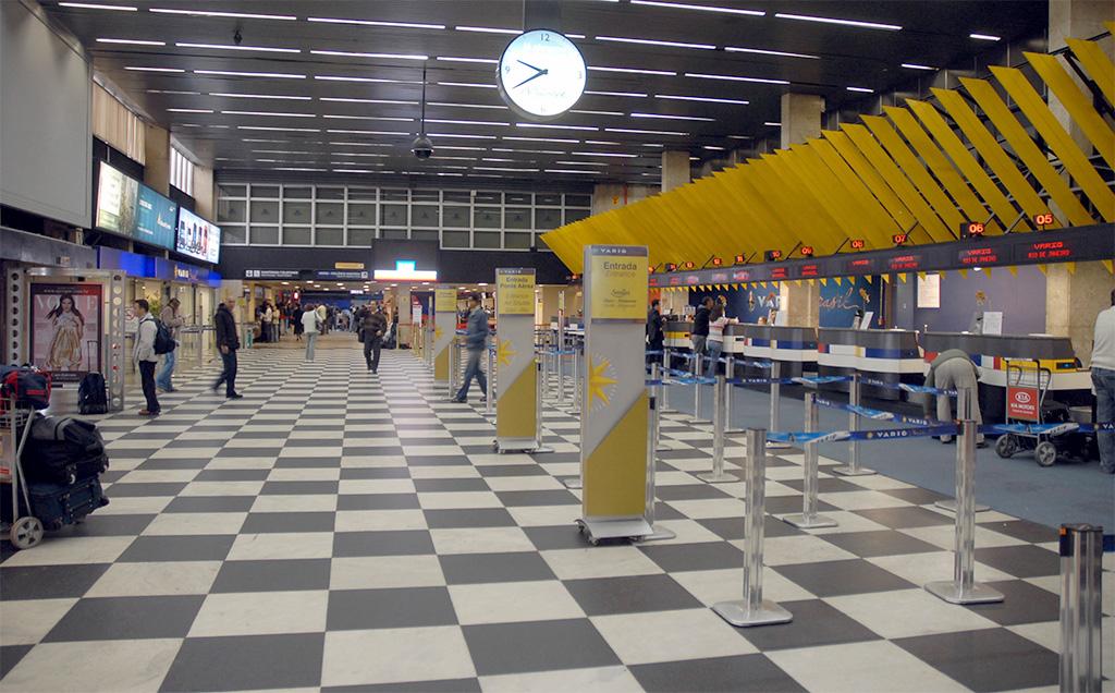 Aeroporto Congonhas São Paulo Brasil