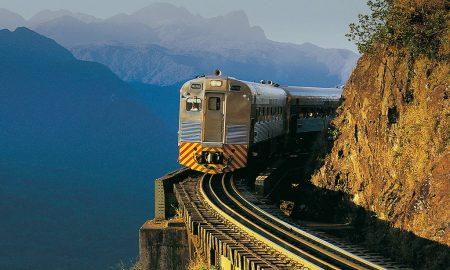 Você Viajando - Brasil - Trem Serra do Mar (Foto: Serra Verde Express)
