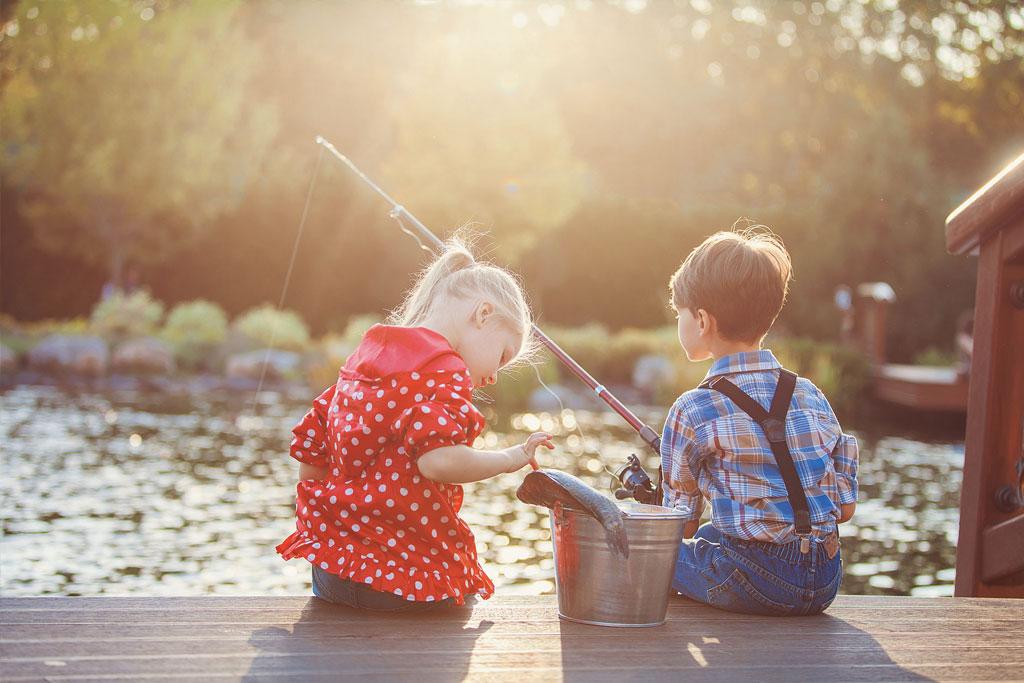 Dia das Crianças – A pescaria pode ser uma atividade inesquecível para os pequenos
