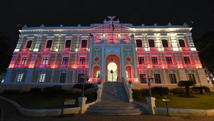 Palácio Anchieta. Crédito: Governo do Espírito Santo