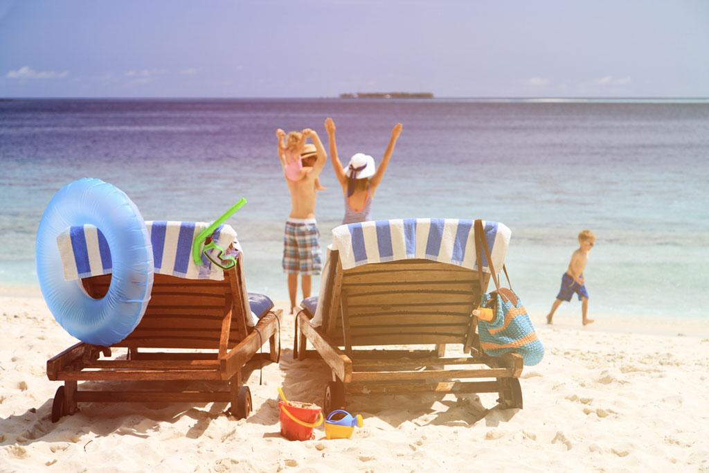 Dia das Crianças – Morar na praia pode ter suas vantagens