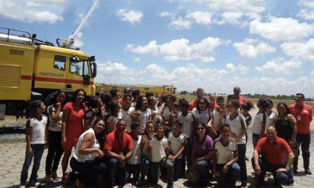 Aeroporto de João Pessoa realiza ação para celebrar o Dia das Crianças
