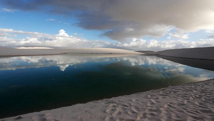 Lençois Maranhenses - Lagoa Azul - Foto: Divulgação/Embratur
