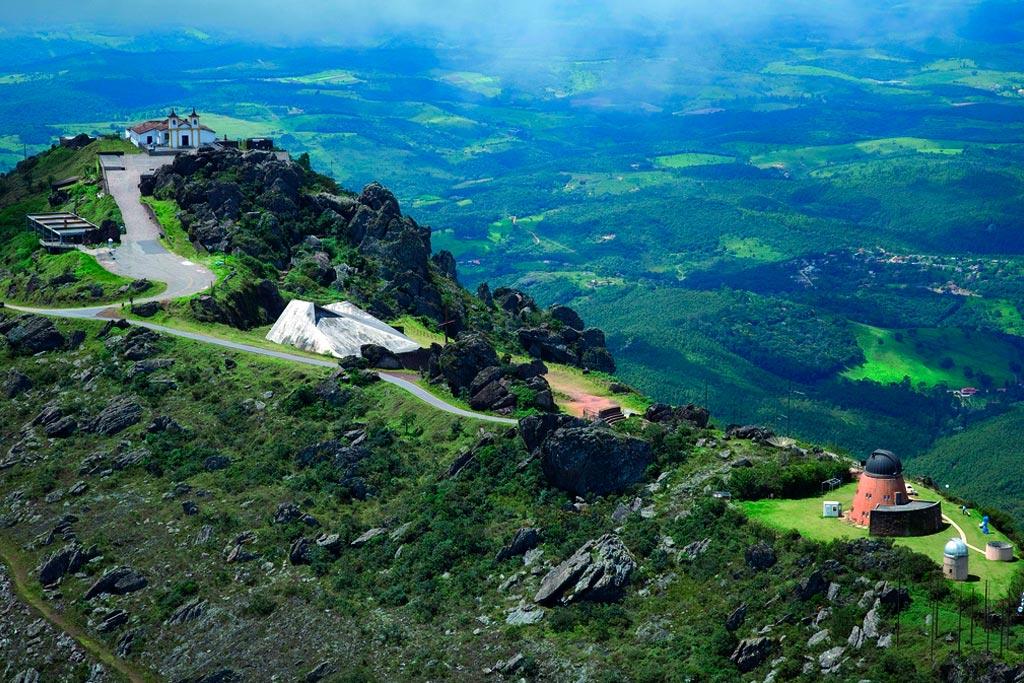 Turismo religioso em Minas Gerais - Santuário Nossa Senhora da Piedade (Foto: santuarionsdapiedade.org.br)