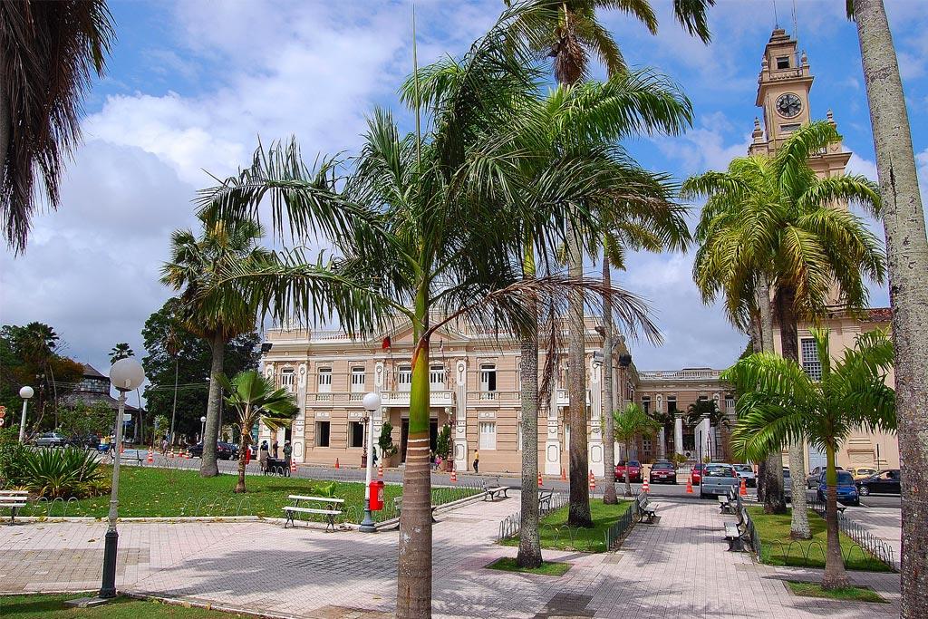 Sede do Centro de Ciências Jurídicas da UFPB - João Pessoa - Paraíba - Brasil