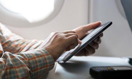 Wi-fi nas nuvens –Primeiro voo com conexão à internet no Brasil