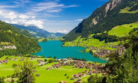 Lago Lungerersee – Suíça