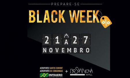 Santos Dumont e Congonhas terão descontos na Black Week