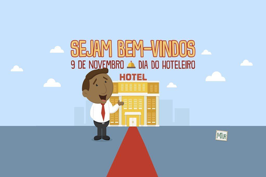 Turismo celebra o Dia do Hoteleiro (Ilustração: Divulgação/Min. do Turismo)