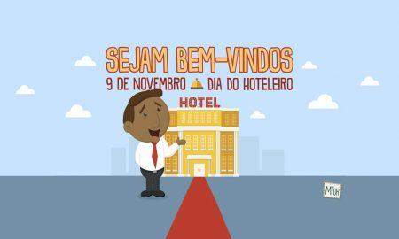 Turismo celebra o Dia do Hoteleiro