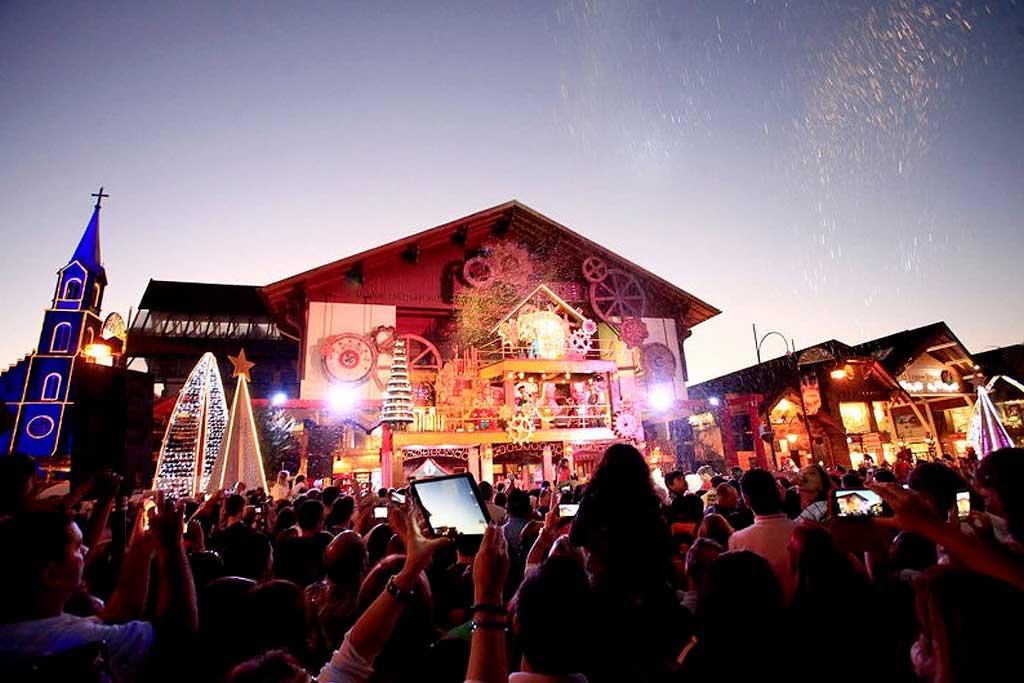 A magia do Natal nos destinos turísticos nacionais