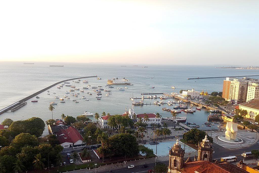 II Festival Náutico de Salvador - A bela vista da Baia de Todos os Santos (Foto: Divulgação/Embratur)