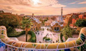 Parque Guell, Barcelona – Espanha