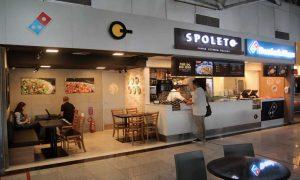 LojasSpoleto e Domino's recentemente inauguradas no Aeroporto Internacinal do Recife. (Foto: Infraero)
