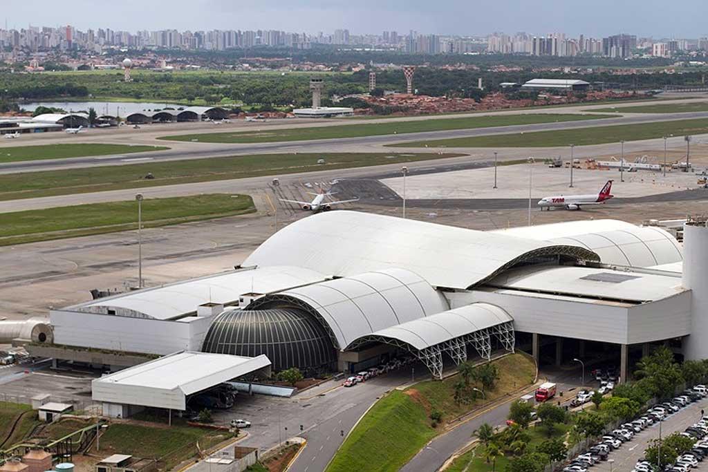 Aeroporto de Fortaleza. (Foto: Ministério do Esporte/ Portal da Copa)