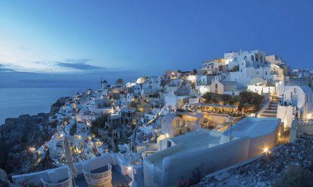 Vila de Oia, Santorini – Grécia