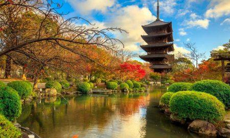 Templo To-ji em Quioto – Japão