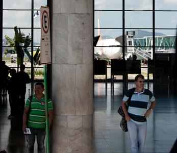 Aeroporto Santos Dumont - Rio de Janeiro (Foto: Carlos Pecuch)