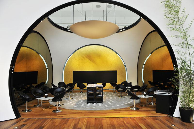 Nova lounge da Turkish Airlines no Aeroporto de Istambul, na Turquia