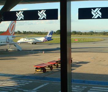 Aeroporto Internacional Marechal Rondon - Cuiabá (MT) (Foto: Carlos Pecuch)