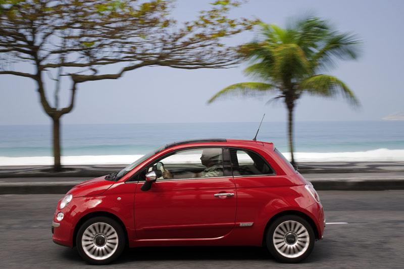 Fiat 500 já pode ser alugado com a Mobility (Foto: Divulgação)