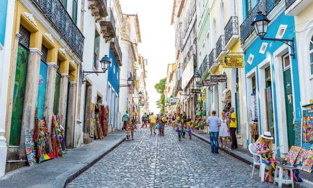 Pelourinho, centro histórico de Salvador, Bahia.