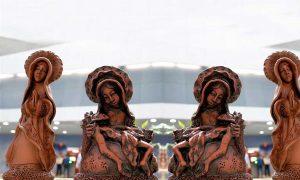 Exposição de Mestre Zuza de Tracunhaém é realizada no Aeroporto do Recife